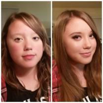 Makeup Class Before & After